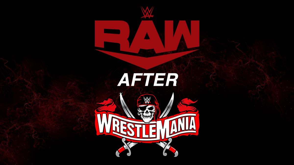 WWE RAW 12 April 2021