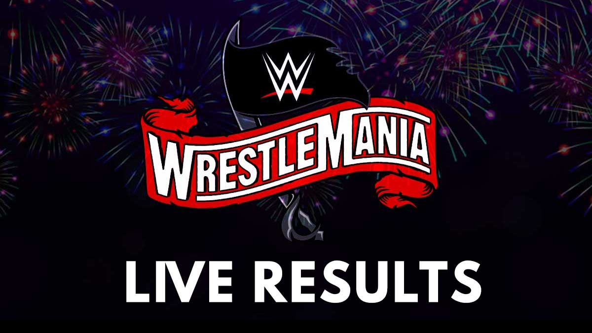 WWE WrestleMania 37 Live Results