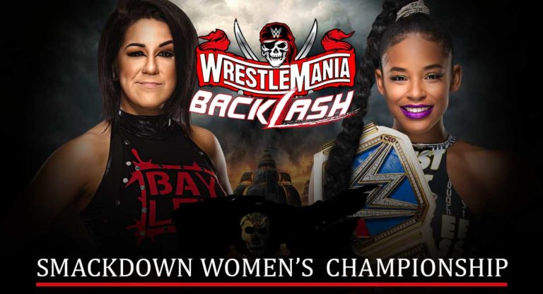 Bianca Belair vs Bayley Announced for WrestleMania Backlash 2021