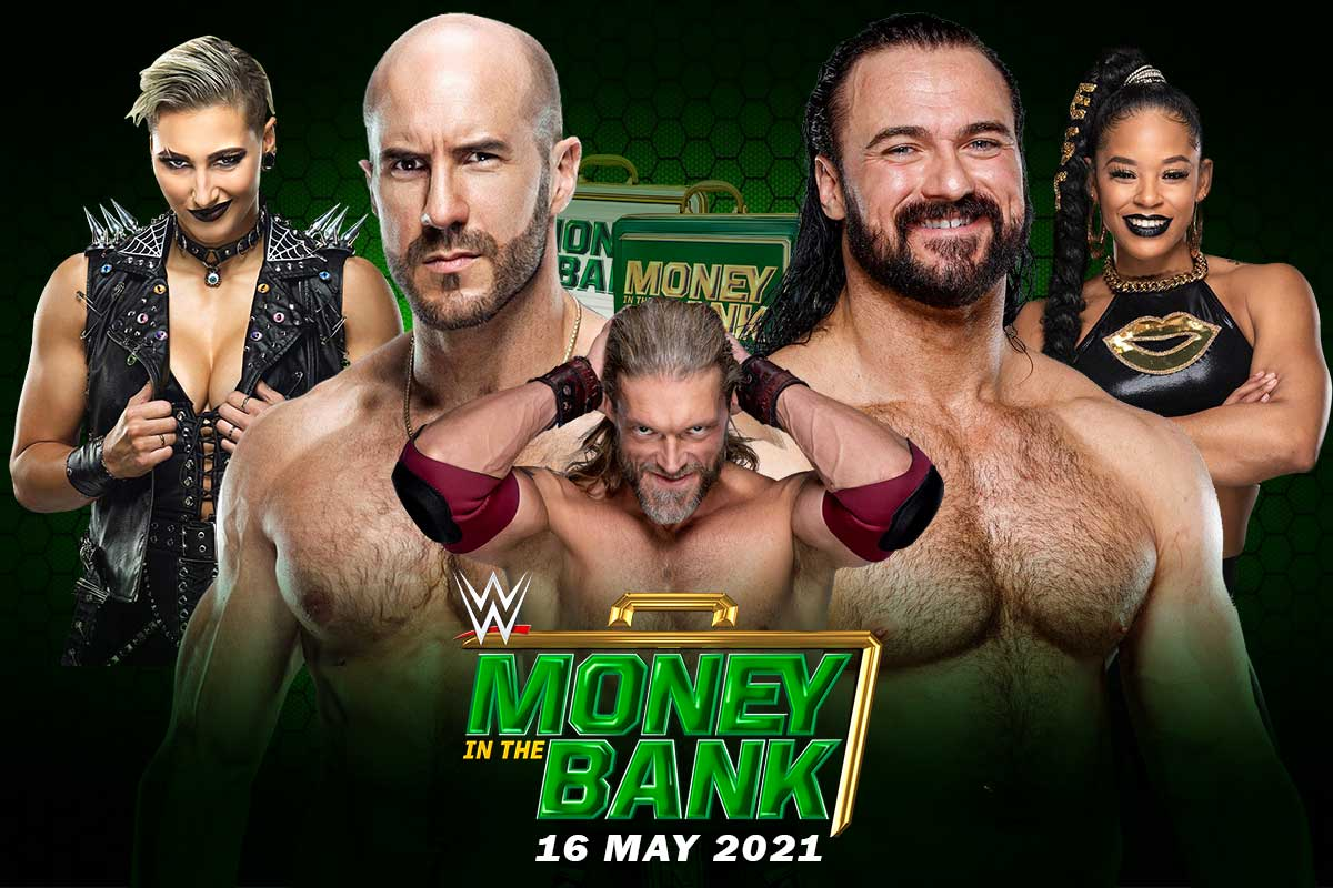 money in the bank 2021 poster
