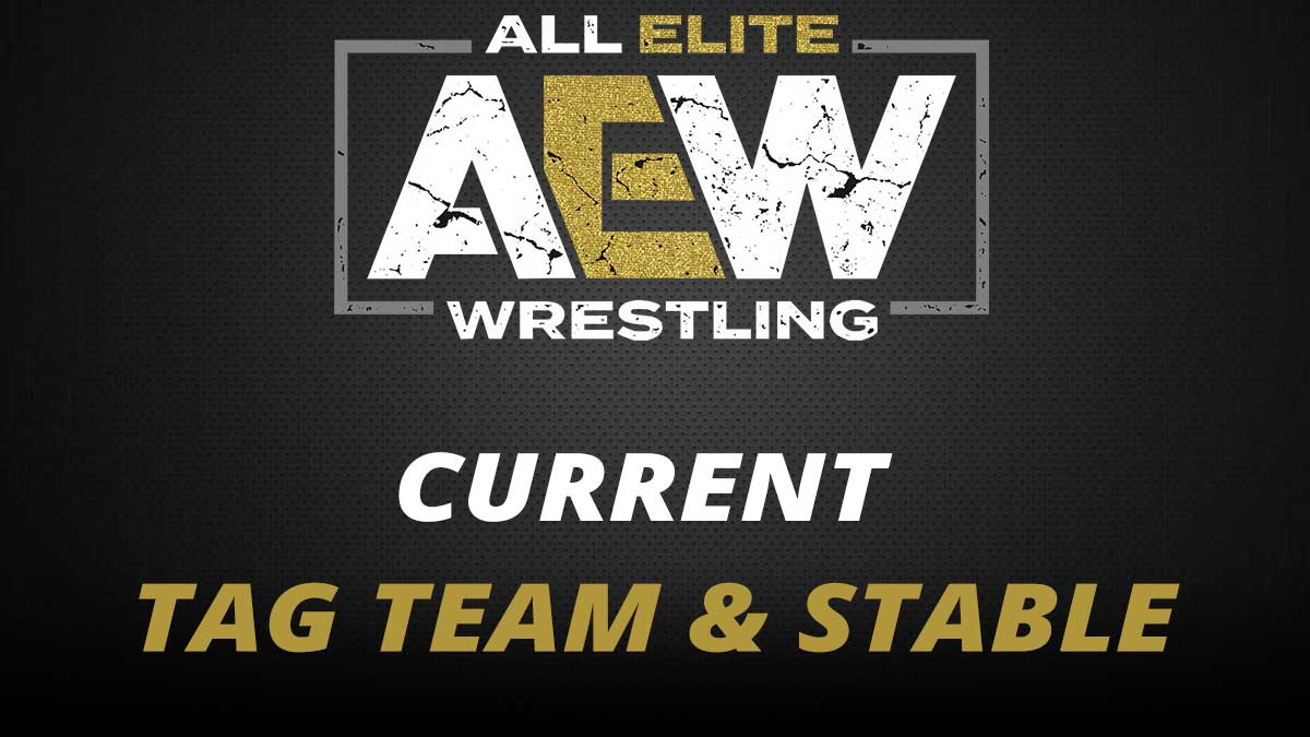 AEW Current Tag Team & Stables