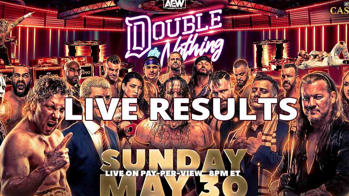 AEW Double or Nothing 2021 Live Results