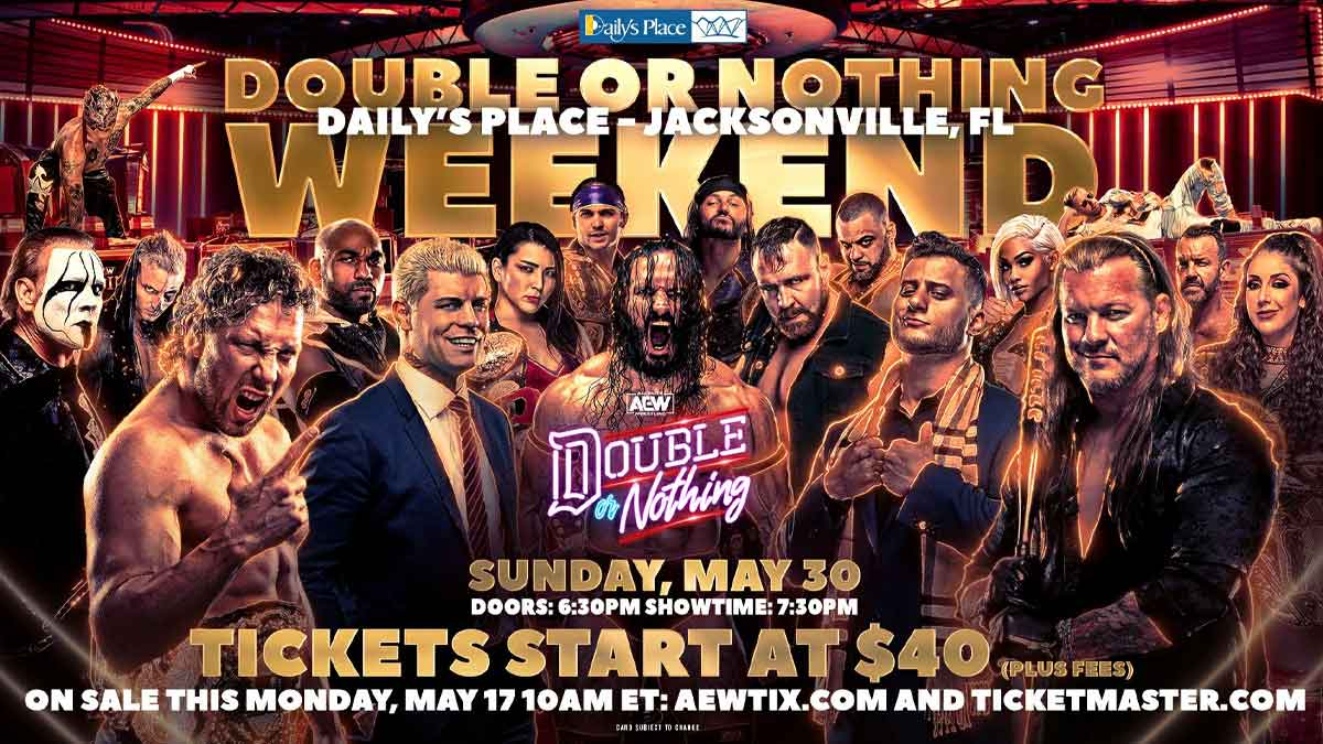 AEW Double or Nothing 2021 Poster