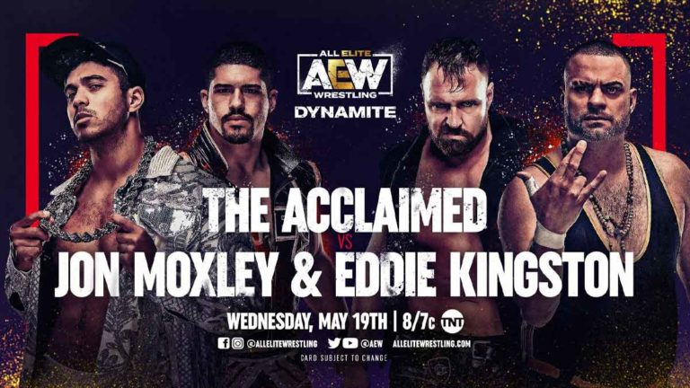 AEW Dynamite Final Match Line-up for Tonight 19 May 2021
