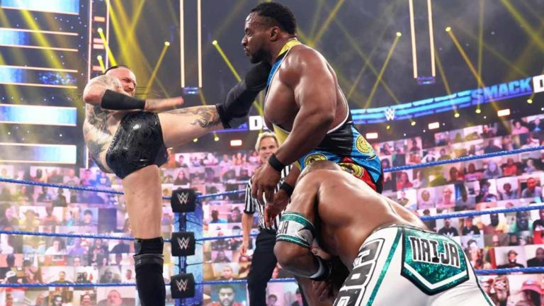 Aleister Black Returns to WWE SmackDown, Starts Feud with Big E