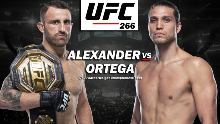 UFC 266 Complete Main Card Revealed With Trios of 5 Round Fights