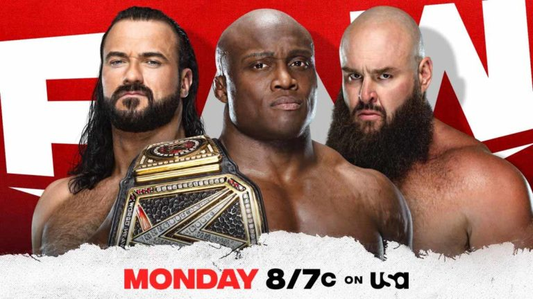 Bobby Lashley Announced for Match on WWE RAW 3 May Episode
