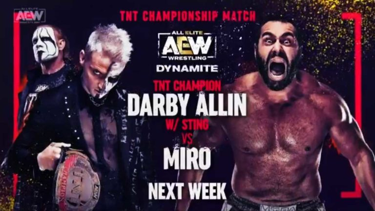 3 Title Matches Scheduled for AEW Dynamite 12 May Episode