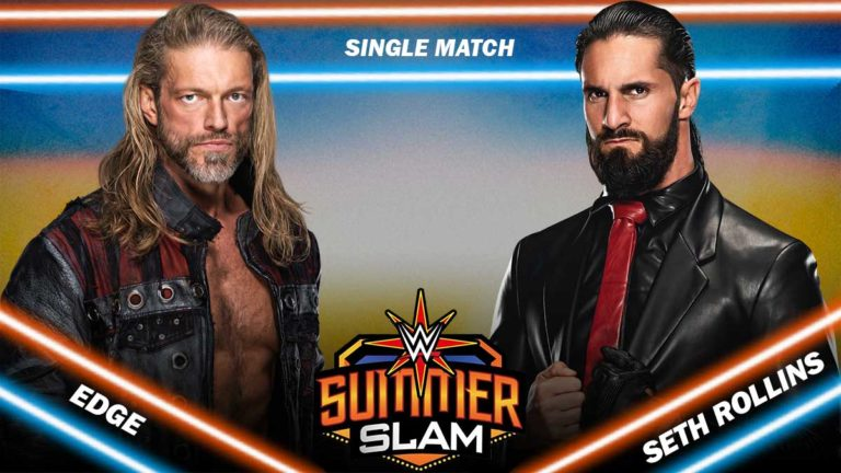 Edge vs Seth Rollins is Official for WWE SummerSlam