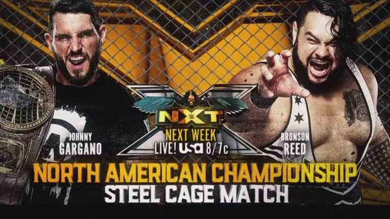 Steel Cage Match & Another Rematch Announced for NXT 18 May Episode