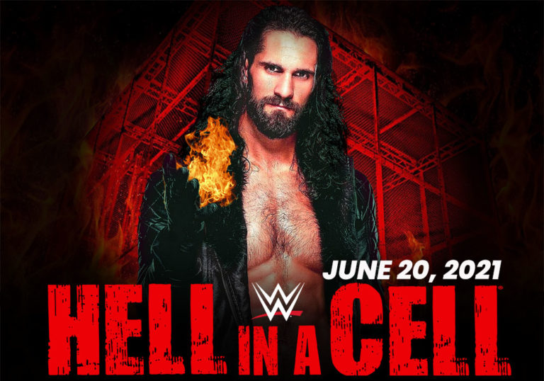hell in a cell 2021 poster