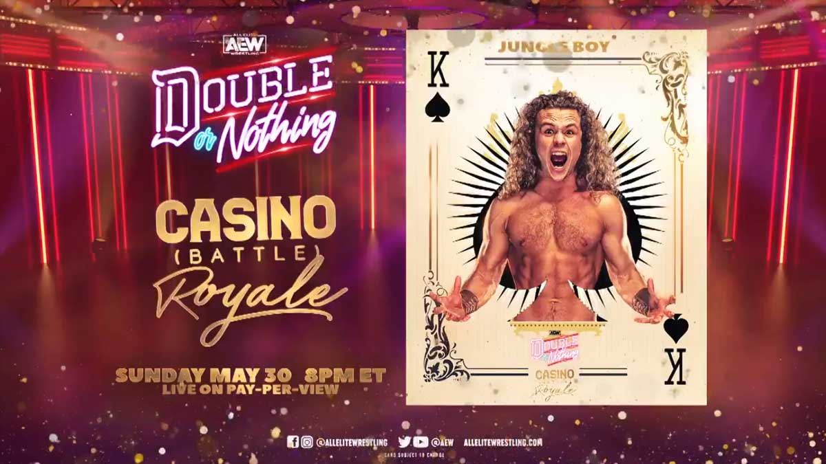 Jungle Boy Casino Battle Royal AEW Double or Nothing 2021