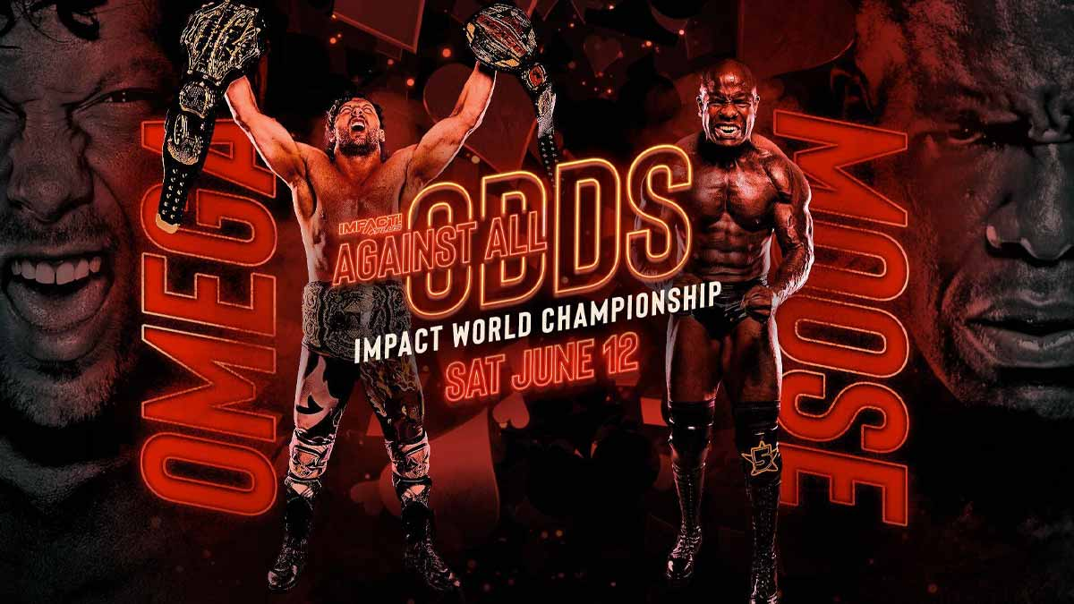Kenny Omega vs Moose Impact World Heavyweight Championship match at Against All Odds 2021