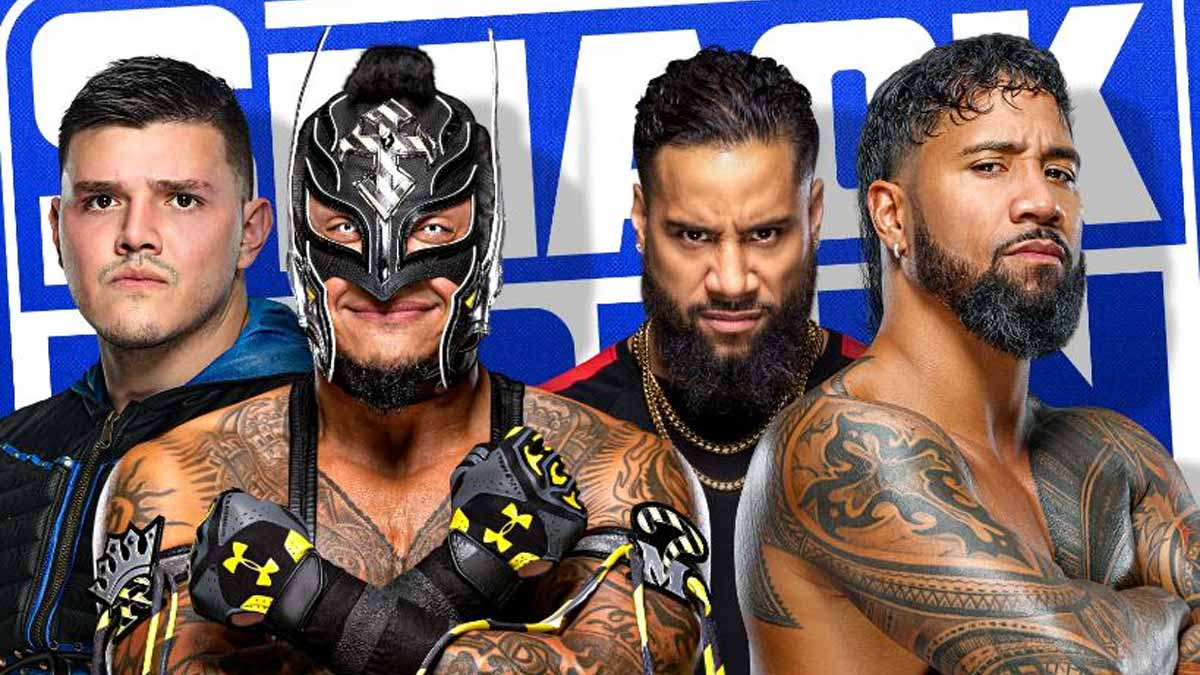The Mysterios vs The Usos WWE SmackDown 4 June 2021