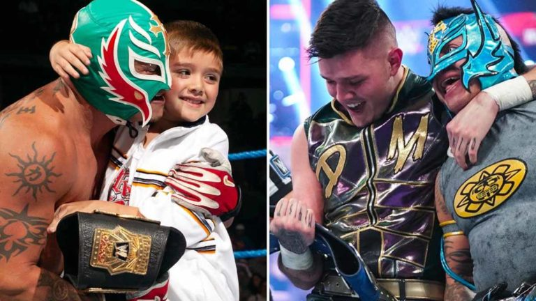 Rey Mysterio & Dominik Make History at WWE WrestleMania Backlash 2021