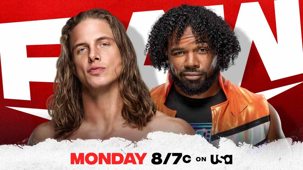 Riddle vs Xavier Woods WWE RAW 24 May 2021
