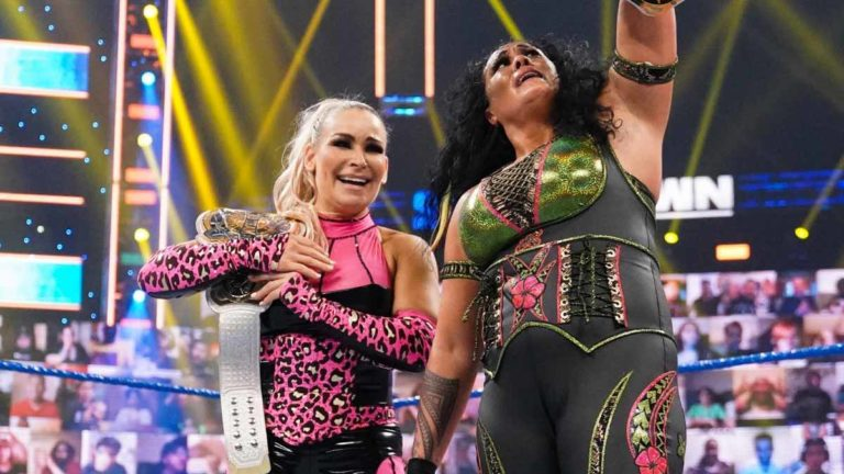 Tamina & Natalya Win WWE Women's Tag Team Championship on SmackDown