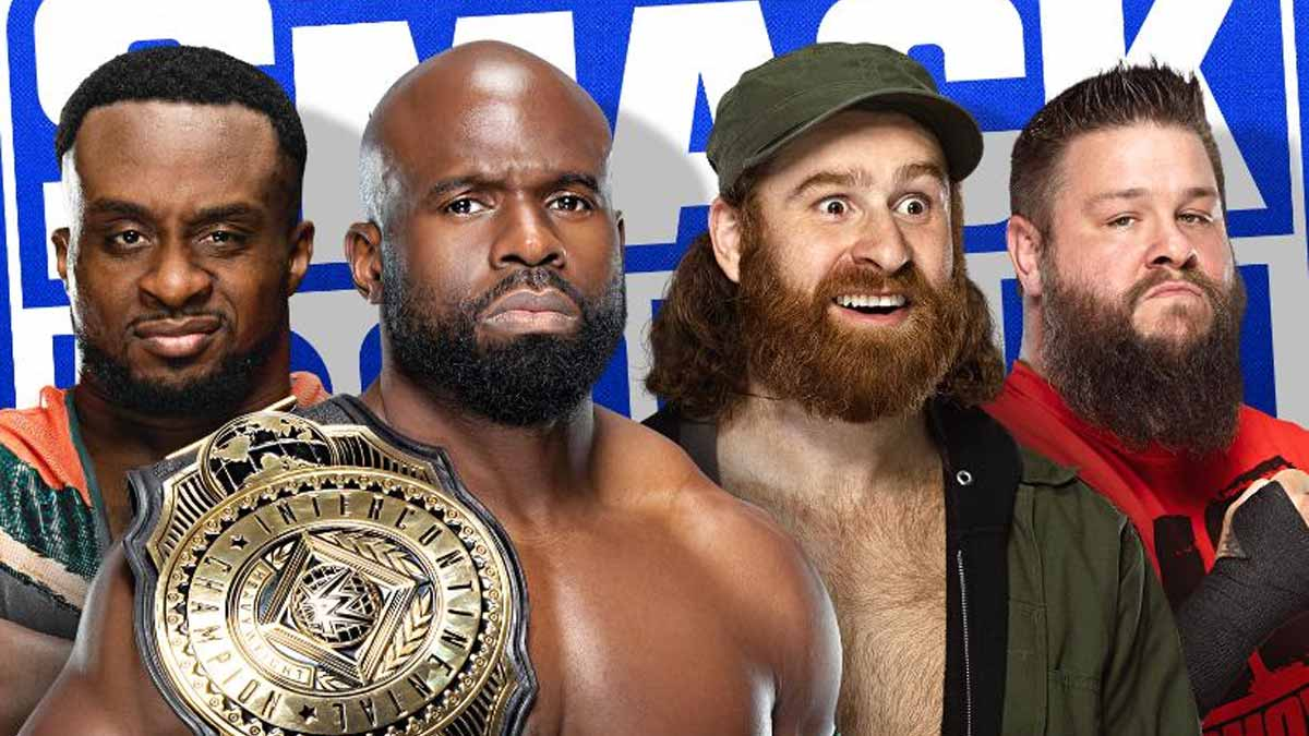 Fatal 4-way WWE Intercontinental Title Match on SmackDown 21 May 2021