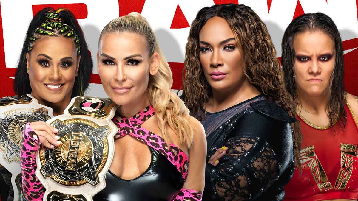 WWE RAW Women Tag Team Title 24 May 2021