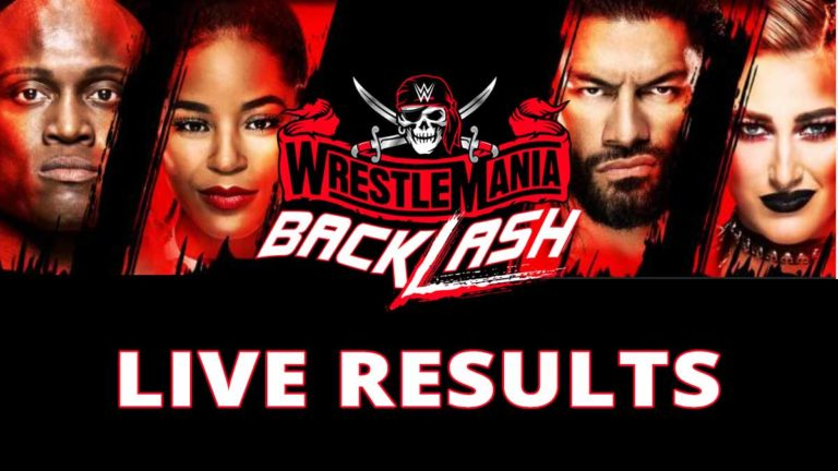 WWE WrestleMania Backlash 2021 Live Results & Updates – Reigns vs Cesaro, Lashley Defends