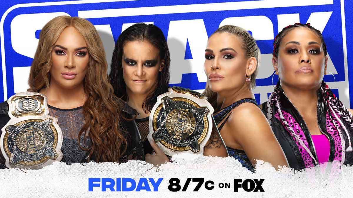 WWE SmackDown 14 May 2021 Women's Tag Title Match