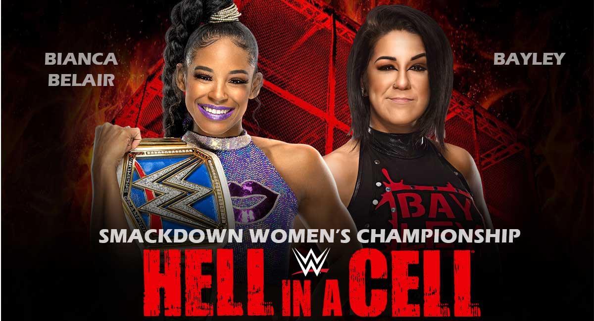 Bianca Belair vs Bayley hell in a cell 2021
