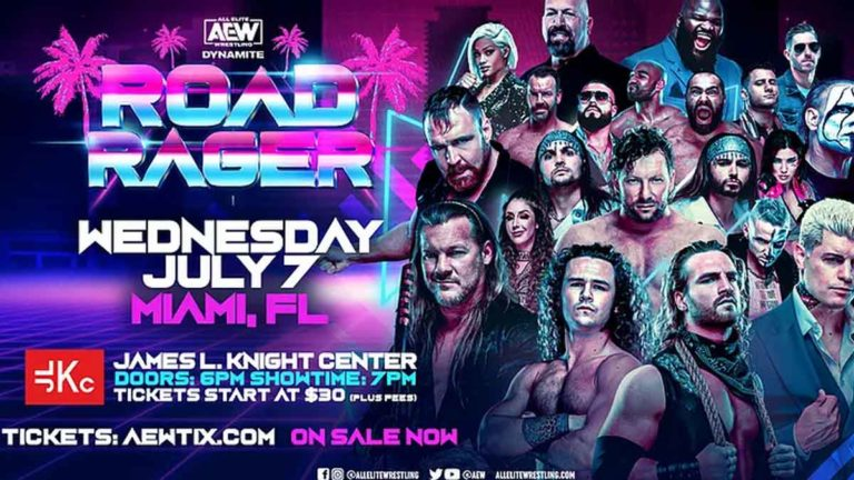 AEW Road Rager 2021 – Match Card, Date, Start Time, How to Watch
