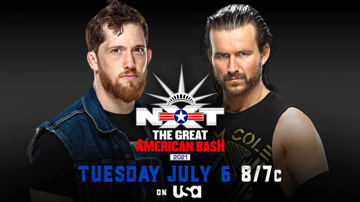 Adam Cole vs Kyle O'Reilly NXT Great American Bash 2021