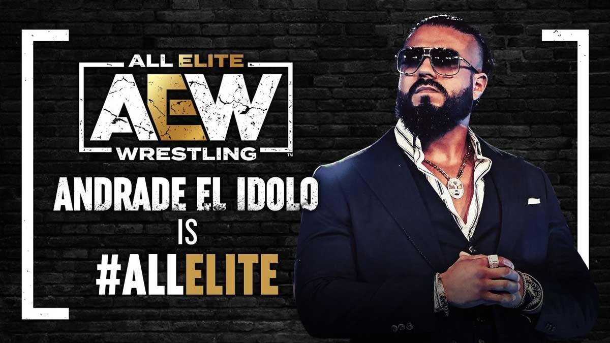Andrade Signs With AEW