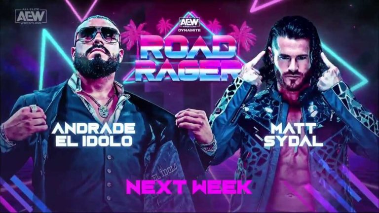 Andrade's In-Ring Debut Announced for AEW Road Rager 2021