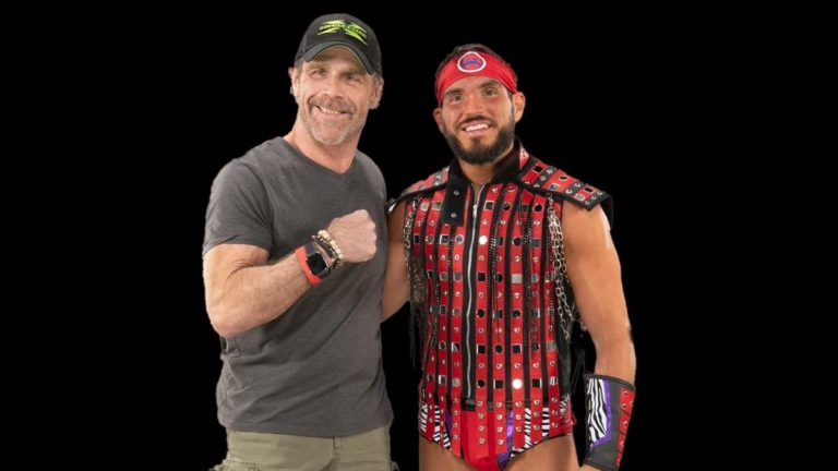 Johnny Gargano Tell Hillarious Story of First Meeting with Shawn Michaels