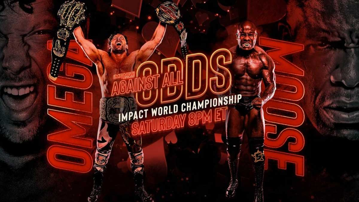 Kenny Omega vs Moose IMPACT World Championship Against All Odds 2021