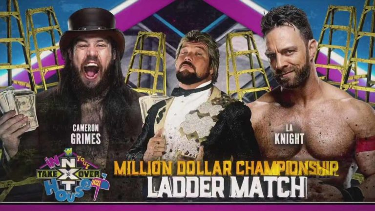 Grimes vs Knight Winner To Get Million Dollar Title at TakeOver: In Your House