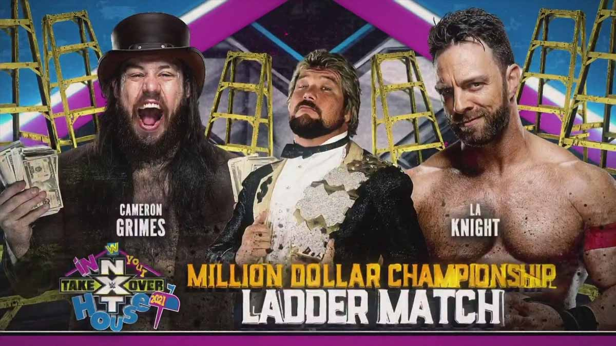 Million Dollar Title match NXT TakeOver In Your House