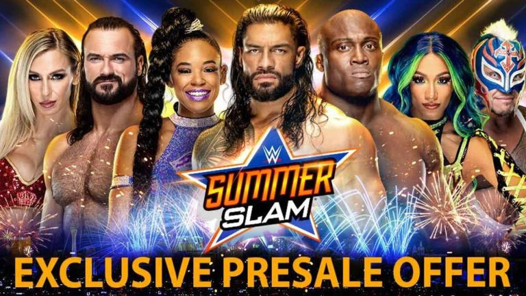 WWE Confirms SummerSlam 2021 Location and Exclusive Tickets Pre-sale