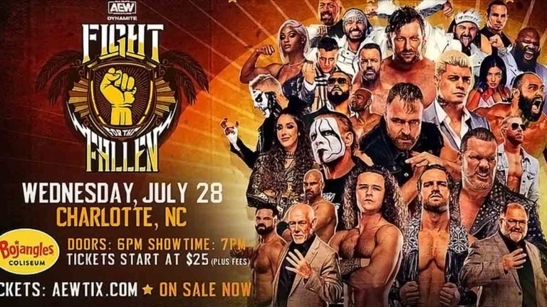 AEW Fight For The Fallen 2021: Results, Match Card, Date, Start Time, Location, How to Watch