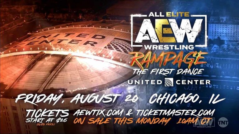 CM Punk Teased For AEW Rampage: The First Dance in Chicago