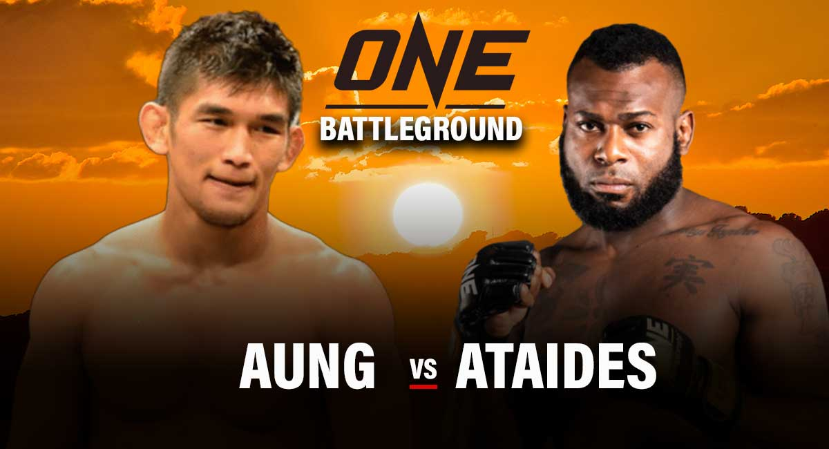 Aung La Nsang vs Leandro Ataides - Middleweight MMA Fight
