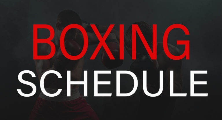 Boxing Schedule 2021: List of Upcoming major fights