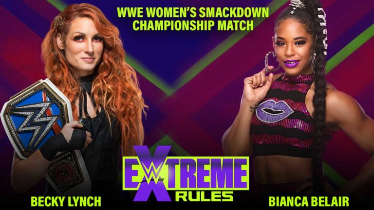 Becky Lynch vs Bianca Belair Announced for WWE Extreme Rules 2021, Contract Signing Next Week