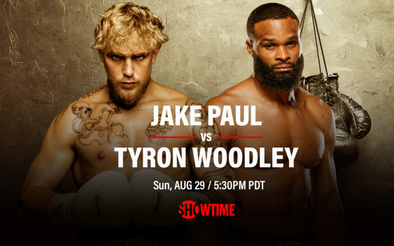 Showtime Reveals PPV Price for Tyron Woodley vs Jake Paul
