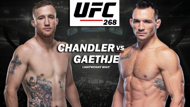 UFC 268: Justin Gaethje vs Michael Chandler Added to Card