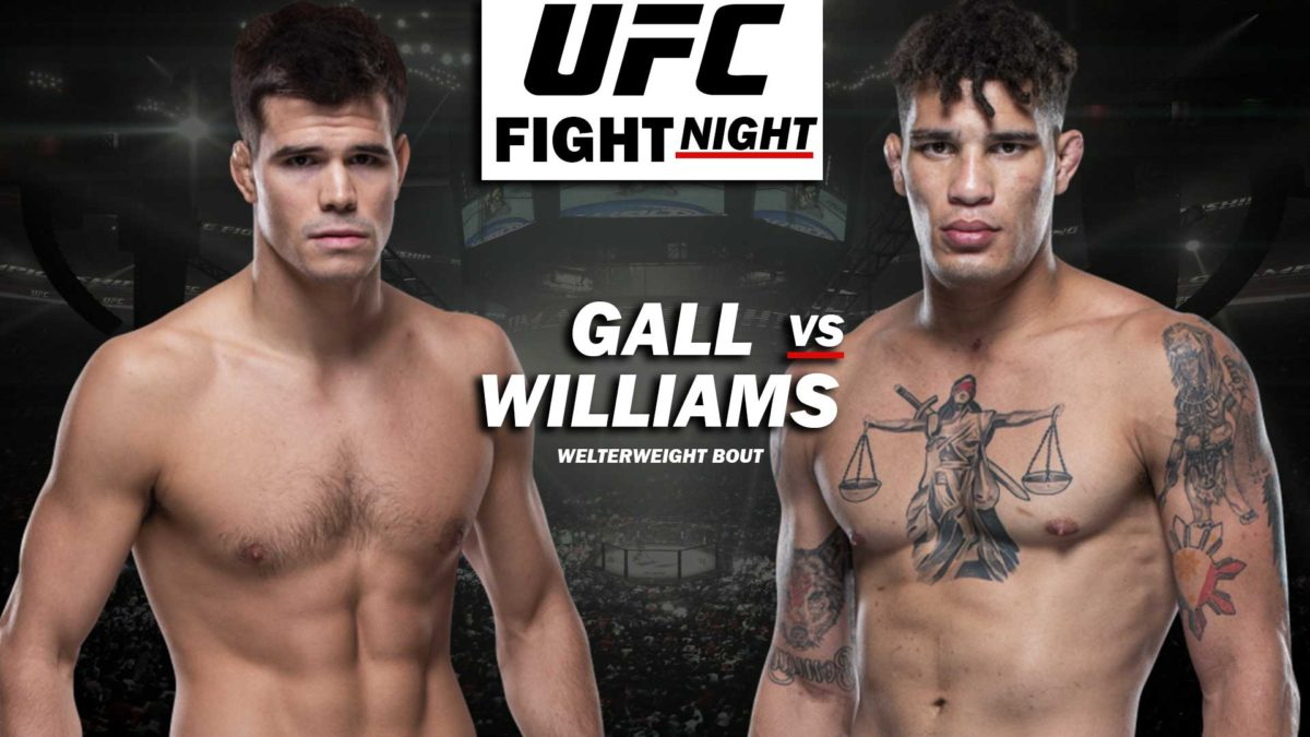 MICKEY GALL vs JORDAN WILLIAMS - WELTERWEIGHT BOUT 24 July