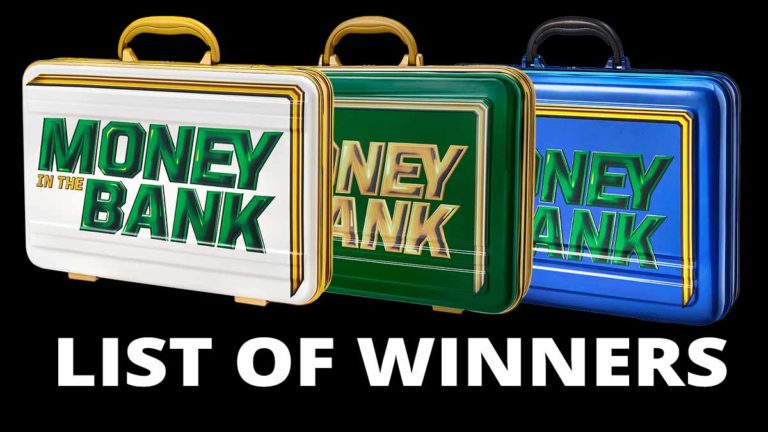 WWE Money In The Bank Briefcase Winners list   MITB Ladder Matches