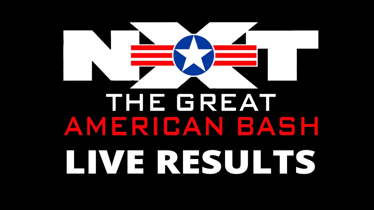 WWE NXT Great American Bash 2021 Results