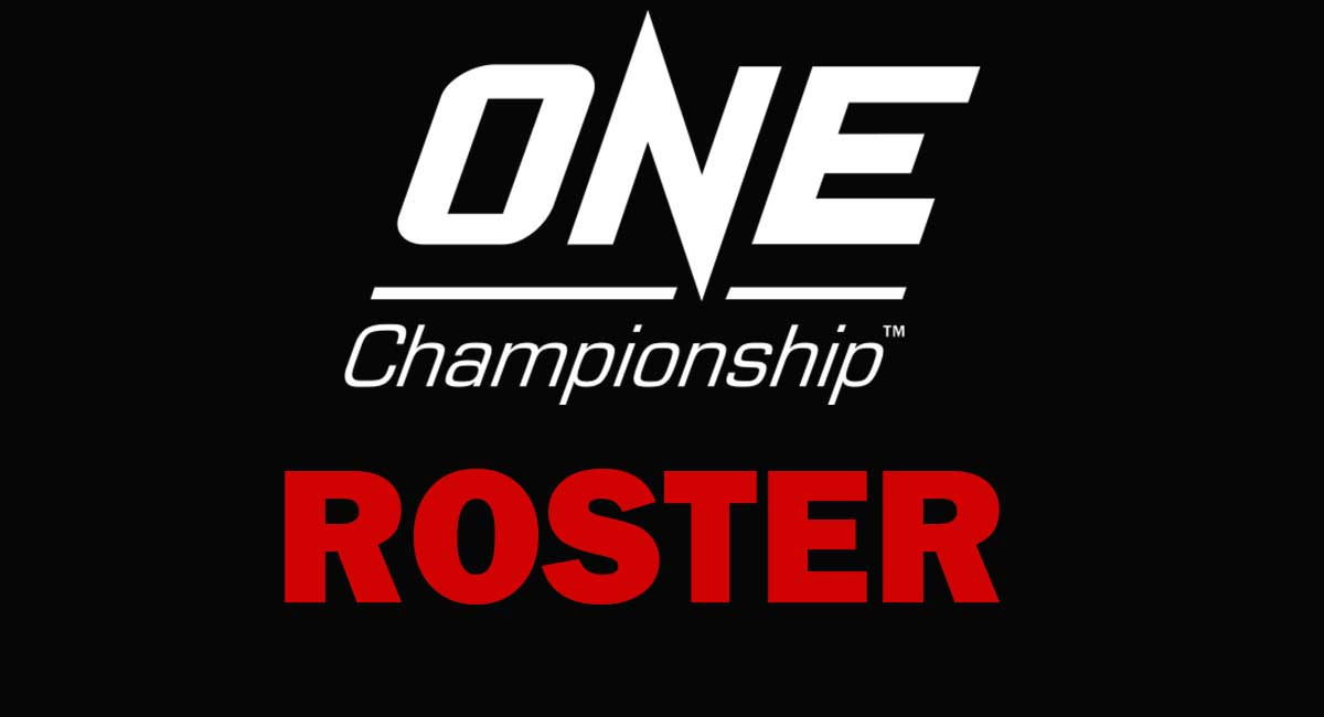 ONE CHAMPIONSHIP ROSTER