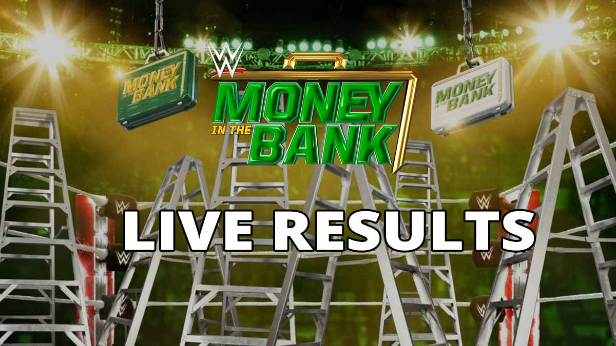 WWE Money in the Bank 2021 Live Results Updates