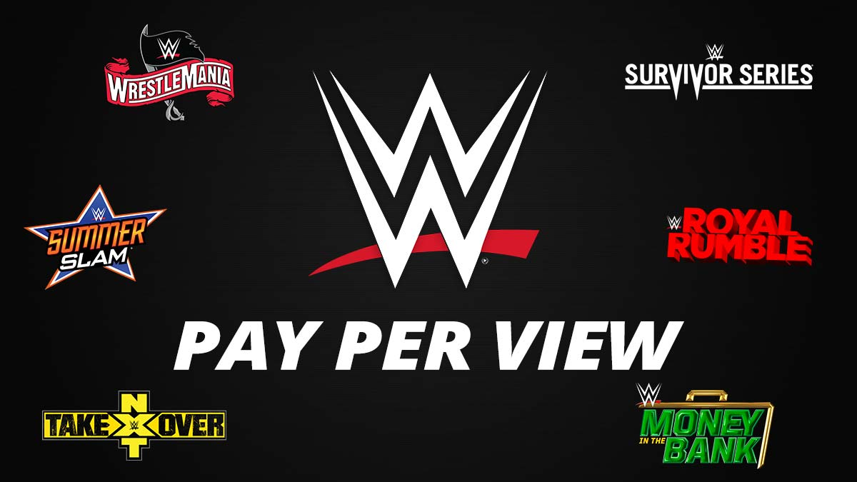 WWE PPV Poster