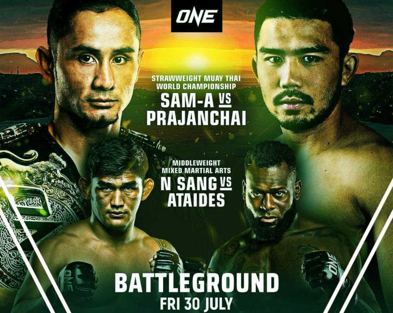 ONE: BATTLEGROUND- Results, Fight Card, Date, Time, How to Watch