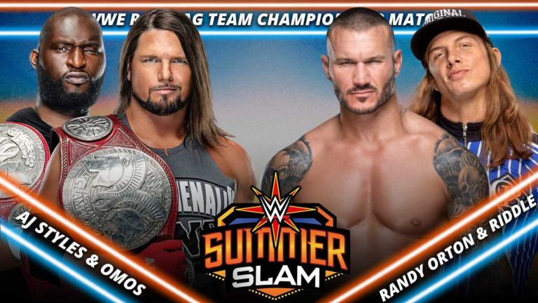 RAW Tag Team Championship Match Announced For SummerSlam 2021